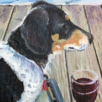 Bosco - Original oil painting by Eric Soller