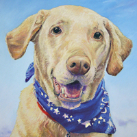 Callie - Original pastel painting by Eric Soller