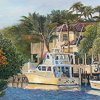 R & R - Original oil painting by Eric Soller